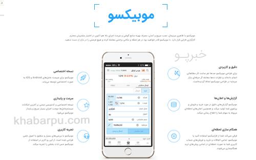 ورود به سایت موبیکسو mobixo, دانلود اپلیکیشن موبیکسو کارگزاری فارابی