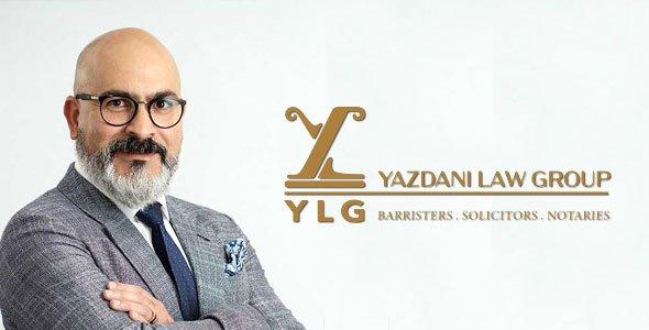 وکیل مهاجرت کانادا افشین یزدانی | YLG Yazdani Law Group