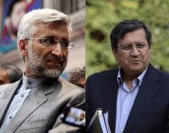 جدال توئیتری جلیلی با همتی بعد از کنارهگیری از انتخابات